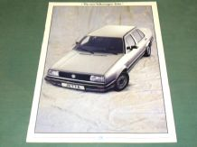 "VW ""THE NEW VOLKSWAGEN JETTA"" 1984 Brochure"
